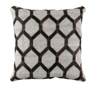 18 Black, Dark Brown and Gray Rustic Animal Patterned Decorative Throw Pillow