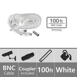 Samsung SEA-C101-100 Extension 100ft BNC Video/Power Cable