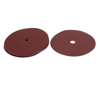 7-inch Dia 20mm Bore 150 Grits Self-stick Sanding Disc Polishing Sandpaper 10pcs