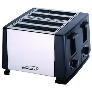 Brentwood TS-284 Automatic shutoff 4-Slice Toaster
