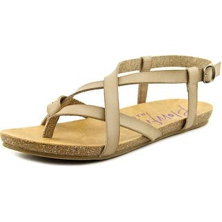 Blowfish Granola Open-Toe Leather Slingback Sandal|https://ak1.ostkcdn.com/images/products/is/images/direct/37a83d9841932be91c7682cbc85f4aedafce5806/Blowfish-Granola-Women-Open-Toe-Leather-Nude-Slingback-Sandal.jpg?impolicy=medium