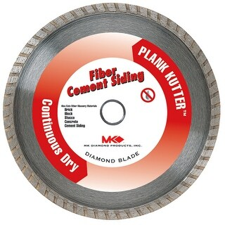 Mk Diamond 7in. Plank Kutter Fiber Cement Siding Continuous Dry Blade 157420