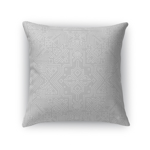 SULTANATE LIGHT GREY Accent Pillow By Kavka Designs. Opens flyout.