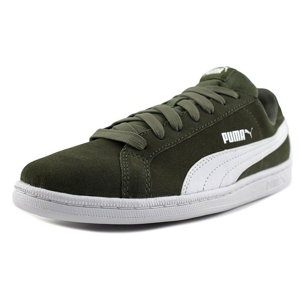 237d417a00c7 Shop Puma Puma Smash SD Men Round Toe Suede Green Sneakers - Free ...