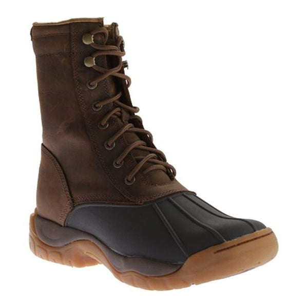 0159e4810d6 Twisted X Boots Men's MGL0001 Guide Boot Brown Rubber/Distressed Saddle  Leather