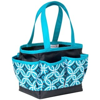 Everything Mary Mini Crafter's Tote-Teal/Black