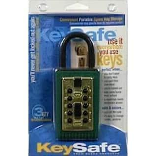 GE 001000 Portable Key Safe Push