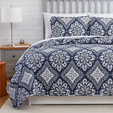 Tranquility Ultra Soft Quilt and Coordinating Sham Set