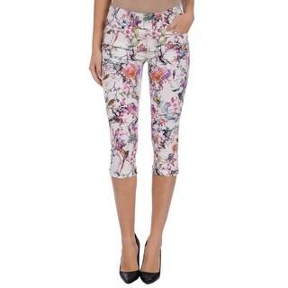 Lola Jeans Michelle-BP, Mid-rise Pull On capris