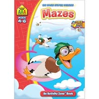 Super Deluxe Workbook-Mazes - Ages 4-6