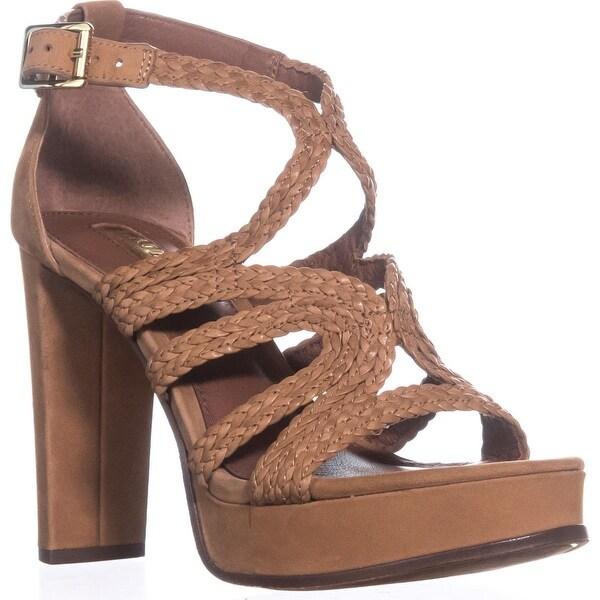 Lauren by Ralph Lauren Aleena Platform Sandals, Polo Tan