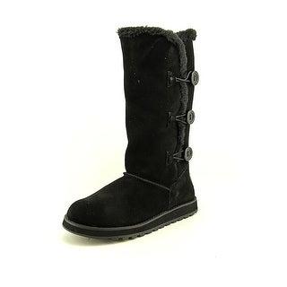Skechers Keepsakes Conceal Round Toe Suede Winter Boot