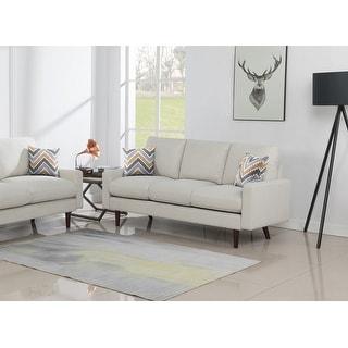 Carson Carrington Ludviki Woven Fabric Sofa Couch