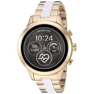 Link to Michael Kors Women's Access Runway MKT5057 Two-Tone Touchscreen Gen 4 Smartwatch - One Size Similar Items in Women's Watches