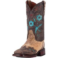 Dan Post Western Boot Womens CC Bluebird Orthotic BST Beige