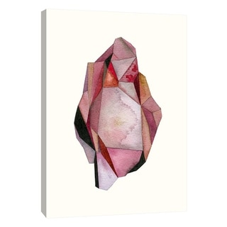 """PTM Images 9-105686  PTM Canvas Collection 10"""" x 8"""" - """"Faceted Gem A"""" Giclee Abstract Art Print on Canvas"""