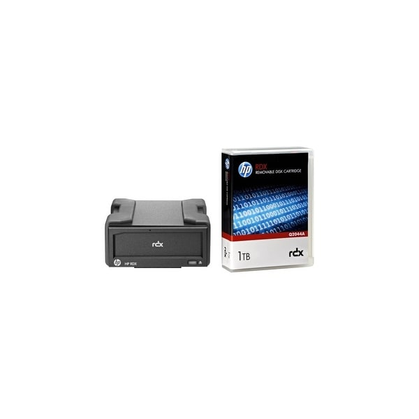 HPE RDX+ 1 TB Ext Disk Backup System Hard Drive