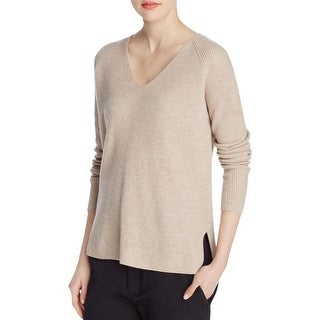 Vince Womens Pullover Sweater Cashmere Long Sleeves
