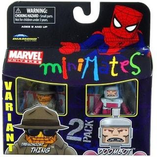 Marvel Minimates Series 37 Figures Trenchcoat Thing & Doombot Variant