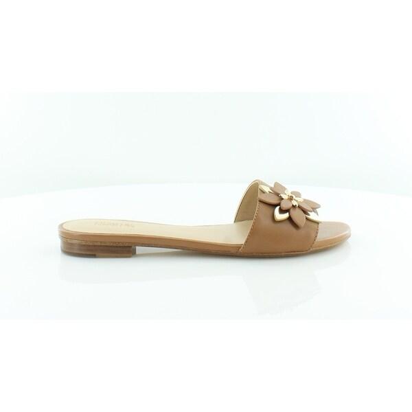 49e927ef7b3 Shop Michael Kors Heidi Flat Sandal Women s Sandals   Flip Flops ...