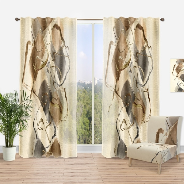 Carbon Loft Hume Modern and Contemporary Curtain Panel. Opens flyout.