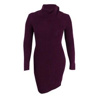 Lauren Ralph Lauren Women's Long Sleeve Sweater Dress - Rouge