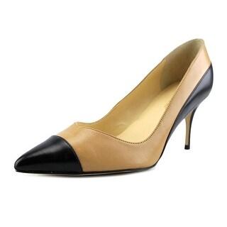 Ivanka Trump Tose2 Pointed Toe Leather Heels