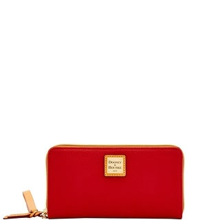 Dooney & Bourke Eva Braid Large Zip Around Wristlet Wallet (Introduced by Dooney & Bourke at $138 in Nov 2018)