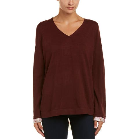 Nydj Mixed Media Sweater