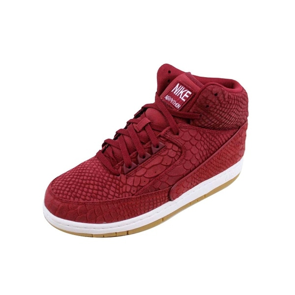 da2aaa41837d6a Shop Nike Men s Air Python Premium Team Red Team Red-White-Gum Light ...