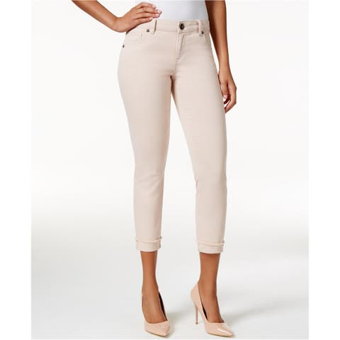 Kut From The Kloth Womens Amy Crop Straight Leg Jeans - 14