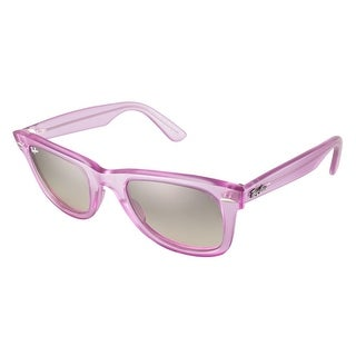 Ray-Ban Original Wayferer Ice Pop Sunglasses Purple - Small