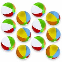 Brybelly Holdings SBEA-102 16 in. Beach Balls - Pack of 12