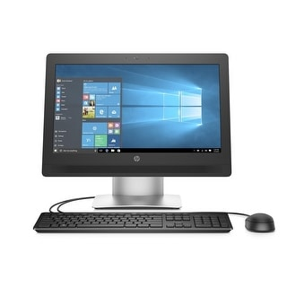 "HP ProOne 400 Core i3-6300, 8GB 128GB SSD, 20"" Touch WLED Win 10 Pro All in One - Black"