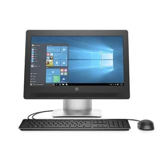 """HP ProOne 400 Core i3-6300, 8GB 128GB SSD, 20"""" Touch WLED Win 10 Pro All in One - Black