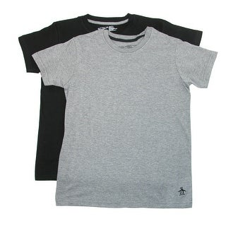Penguin Boy's Basic Cotton Tee Shirt (2 Pack)