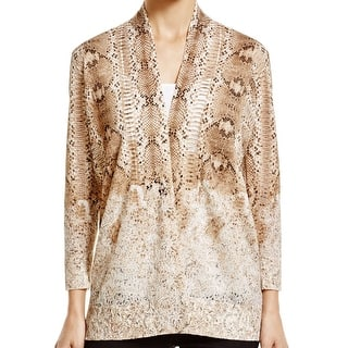 Magaschoni NEW Brown Women's Large L Burnout Cardigan Silk Sweater|https://ak1.ostkcdn.com/images/products/is/images/direct/37b435ba120ff18a2024a5bee0148efb81fd3837/Magaschoni-NEW-Brown-Women%27s-Large-L-Burnout-Cardigan-Silk-Sweater.jpg?impolicy=medium