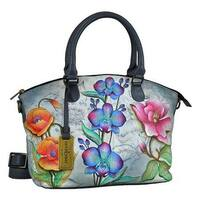 Anuschka Women's Medium Convertible Satchel Floral Fantasy - us women's one size (size none)