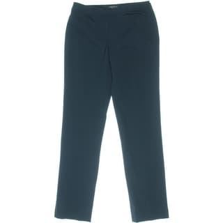 Lafayette 148 Womens Straight Leg Flat Front Dress Pants - 0