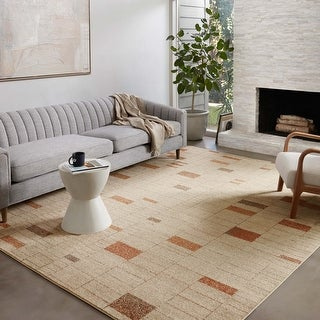 Link to Alexander Home Bradford Mid Century Modern Area Rug Similar Items in Rugs