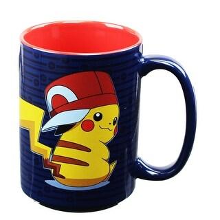 Pokemon Pikachu Trainer 16oz Coffee Mug - Multi