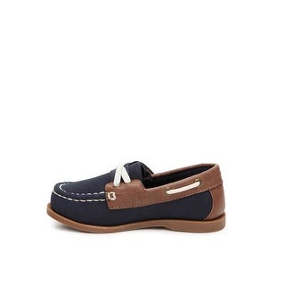 Max + Jake Boys 410226 Slip On Boat Shoes - 6M