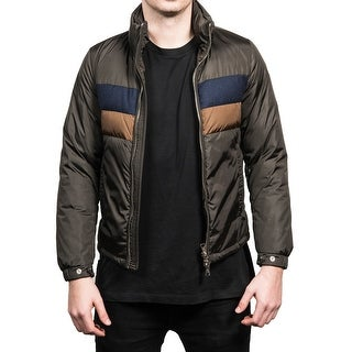 Moncler Men's Vilbert Padded Tri-Color Zip-up Jacket - XS