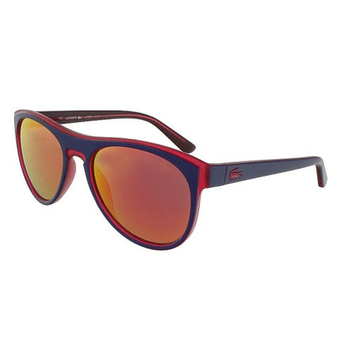 Lacoste L782S 513 Purple-Cyclamine Rectangle Sunglasses - 54-18-135