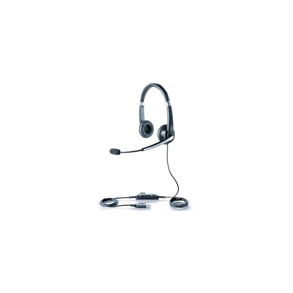 Jabra UC Voice 550 MS Duo Stereo Corded USB Headset w/ Noise Reduction System