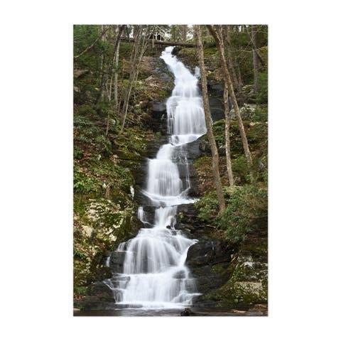 Buttermilk Falls Walpack Township Unframed Wall Art Print/Poster