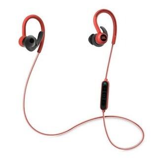 JBL Reflect Contour Bluetooth Wireless Sports Headphones (Red)