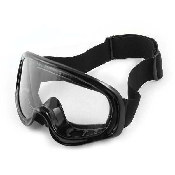 Black Anti Dust Fog Full Frame Motorcycle Safety Ski Sports Goggles Eyewear