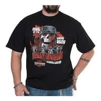 Harley-Davidson Men's Eternal Legends Crew-Neck Short Sleeve T-Shirt, Black
