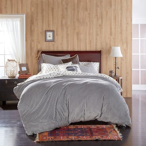G.H. Bass Cozy Corduroy Plush Comforter Set